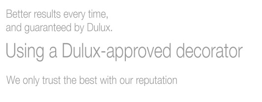 Dulux Select Approved Decorator